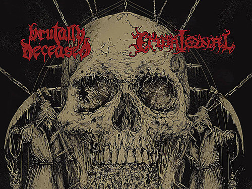 BRUTALLY DECEASED / EMBRIONAL – Scornful Death Trail