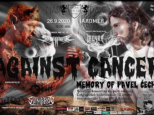 AGAINST CANCER MEMORY OF PAVEL ČECH VOL I. - info