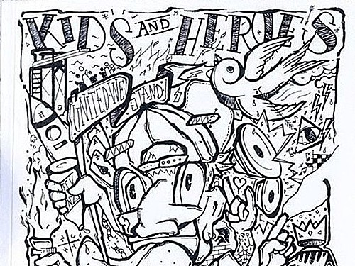 KIDS AND HEROES ZINE