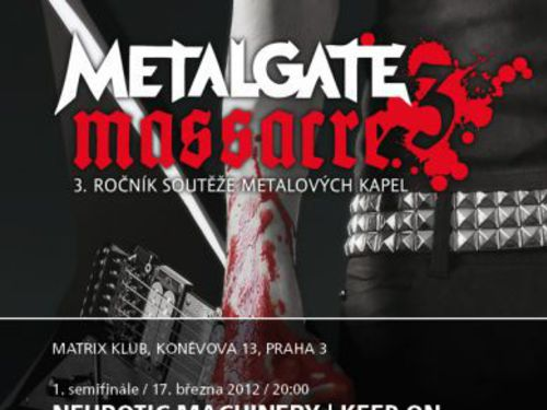 MetalGate Massacre vol.3 – vzhůru do semifinále! - info