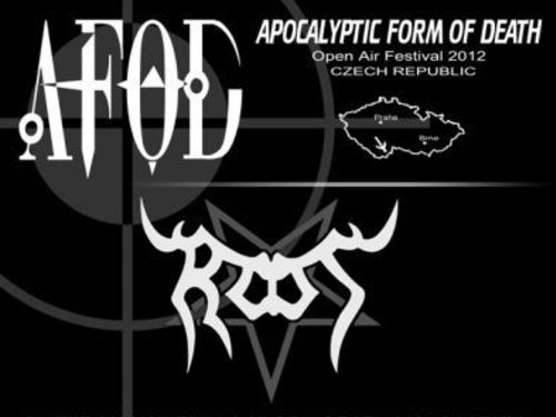 APOCALYPTIC FORM OF DEATH - Open Air Festival 2012 - info