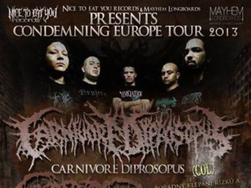 CONDEMNING EURO TOUR 2013 - info