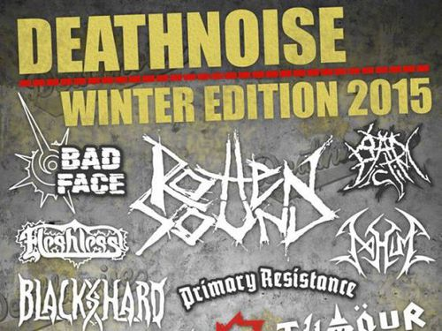 DEATHNOISE WINTER EDITION 2015, 27. 3. 2015, Brno - Eleven club