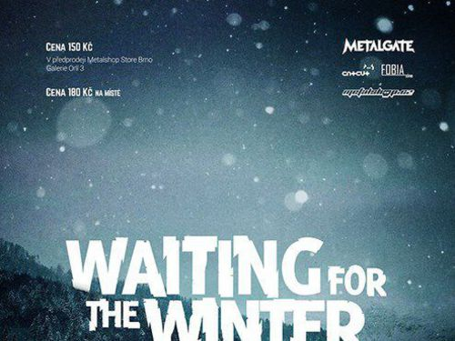 WAITING FOR THE WINTER vol. 8., 28.11.2015, Brno - Favál