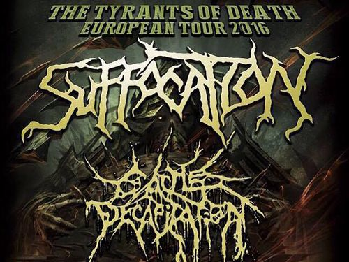 SUFFOCATION, CATTLE DECAPITATION, ABIOTIC, MONUMENT OF MISANTHROPY