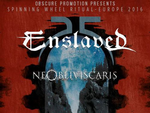 ENSLAVED, NE OBLIVISCARIS, OCEANS OF SLUMBER
