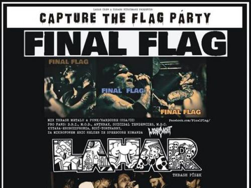 CAPTURE THE FLAG PARTY: FINAL FLAG, LAHAR, KAOSQUAD - info