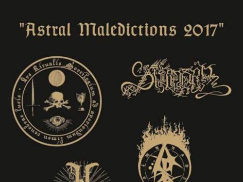 ASTRAL MALEDICTIONS 2017, 1. 12. 2017, Praha - Underdogs