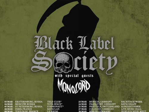 BLACK LABEL SOCIETY, MONOLORD