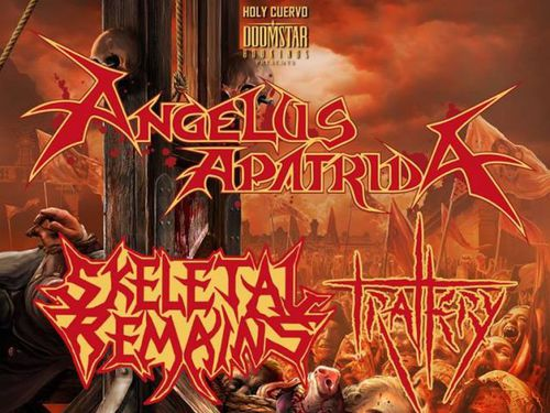 ANGELUS APATRIDA, SKELETAL REMAINS, TRALLERY, MURDER INC., CENTRATE