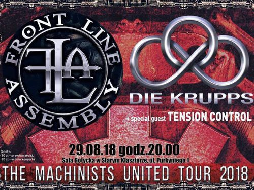 DIE KRUPPS, FRONT LINE ASSEMBLY, TENSION CONTROL