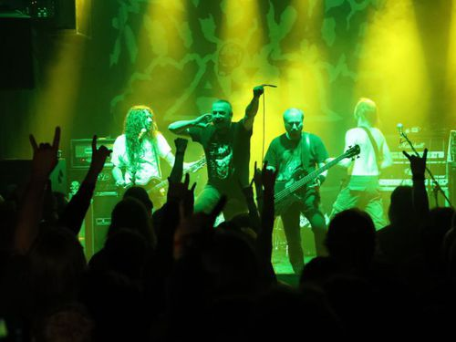 VADER, ENTOMBED A.D., MORTUARY (Fotoreport)
