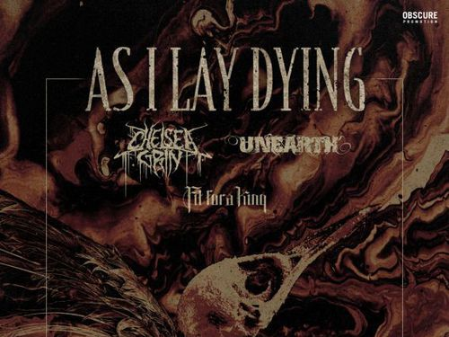 AS I LAY DYING, CHELSEA GRIN, UNEARTH, FIT FOR A KING - info