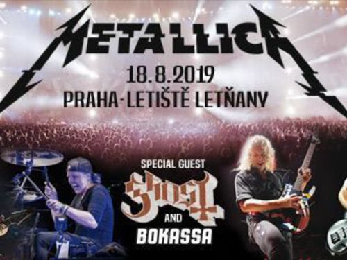 METALLICA, GHOST, BOKASSA