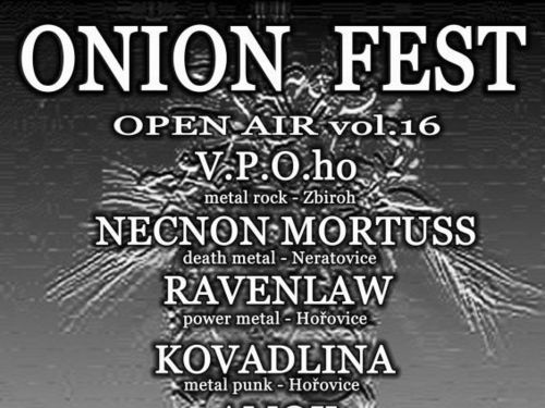 ONION FEST Open Air vol. 16, 5. 10. 2019, Hořovice