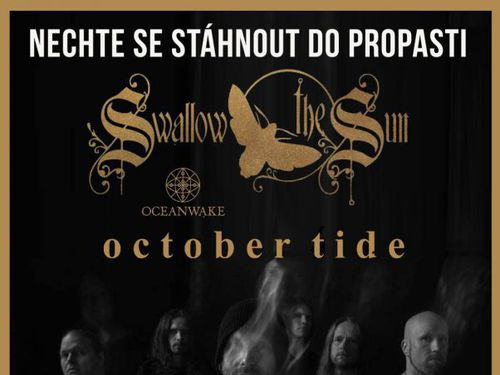 SWALLOW THE SUN, OCTOBER TIDE, OCEANWAKE - info