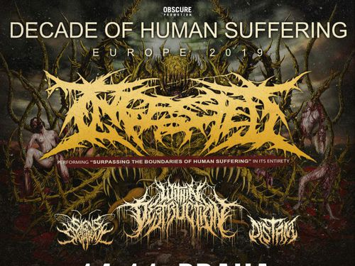 INGESTED, WITHIN DESTRUCTION, SIGNS OF THE SWARM, DISTANT - info