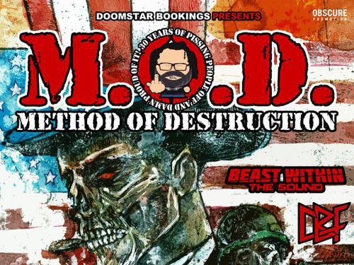 M.O.D., BEAST WITHIN THE SOUND, CBF - info