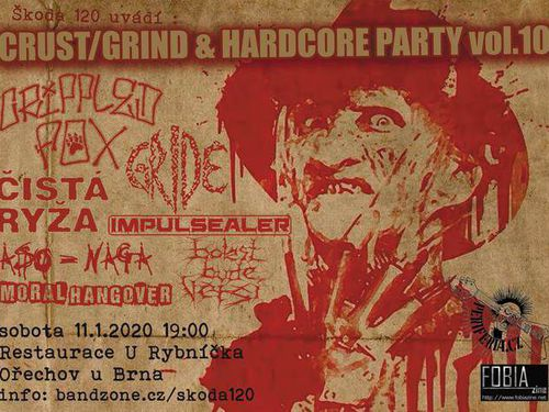 Crust/Grind & Hardcore Party vol.10 - info