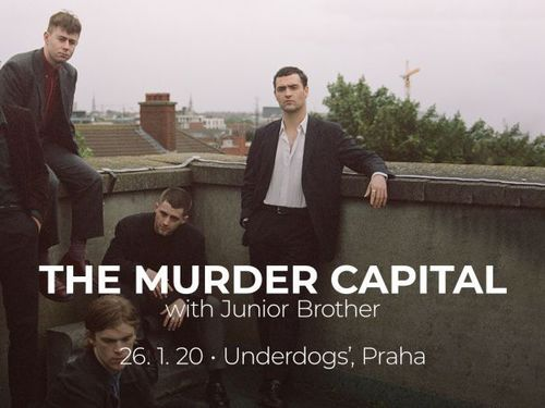 THE MURDER CAPITAL, JUNIOR BROTHER - info