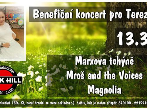 MARXOVA TCHÝNĚ, MROŠ AND THE VOICES, MAGNOLIA - info