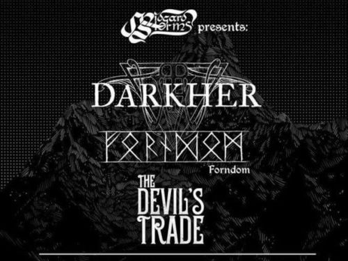 DARKHER, FORNDOM, THE DEVIL\'S TRADE - info