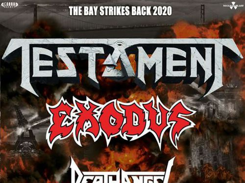 TESTAMENT, EXODUS, DEATH ANGEL