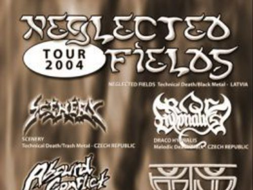 NEGLECTED FIELDS Tour 2004 - info